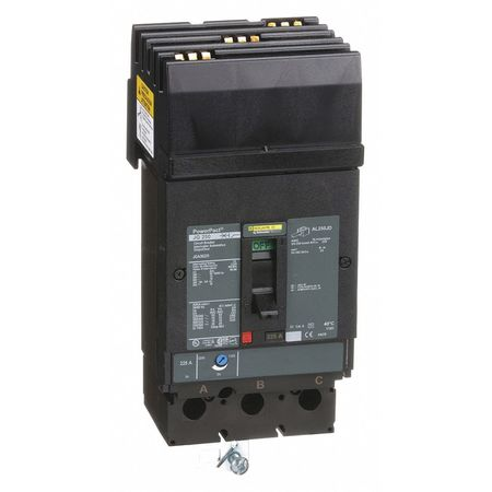 3P Standard Circuit Breaker 225A 600VAC