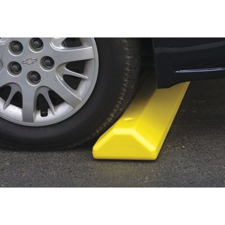 Parking Curb, 72 In, Blue, Polyethylene