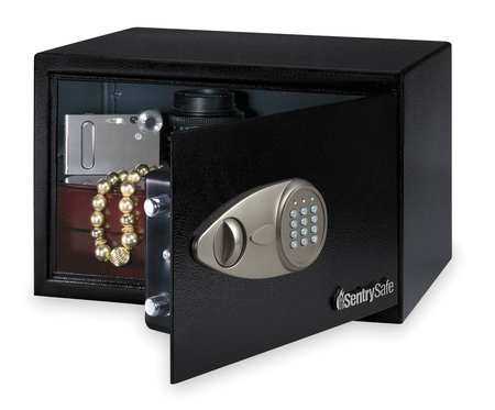 Security Safe, 0.5 cu ft, Black