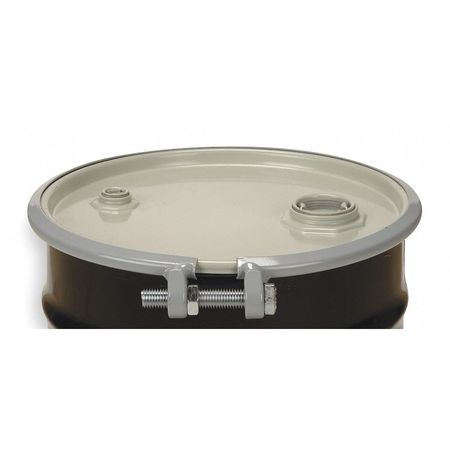 Transport Drum, Open Head, 55 gal., Black