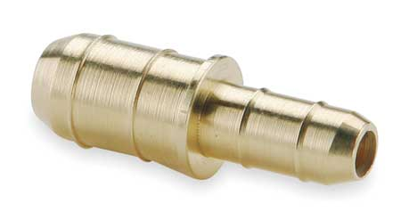 "0.17"" x 3/8"" Barb Brass Union Reducer"