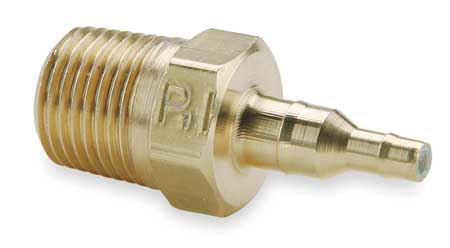 "1/8"" x 0.17"" Barb Brass Adapter"