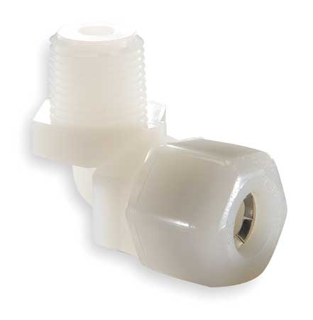 Elbow,  90, Nylon, CompxM, 1/2Inx3/8In