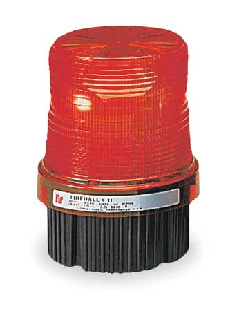 Industrial Supervised Strobe, Red
