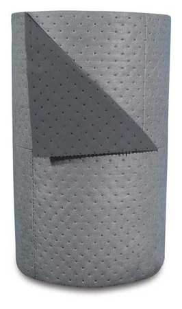 Absorbent Roll, Gray, 47 gal., 30 In. W