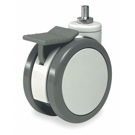 Swivel Stem Castr, Plyurthan, 4 in, 176 lb.