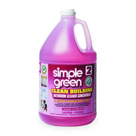 Bathroom Cleaner, Bottle, Pink, PK2