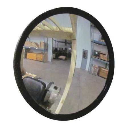 Indoor Convex Mirror, 7 Dia, 10 W, Acrylic