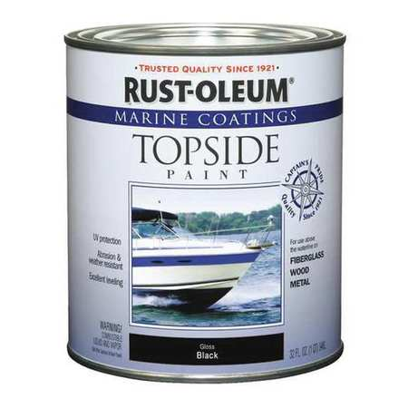 Topside Paint, Black, Alkyd