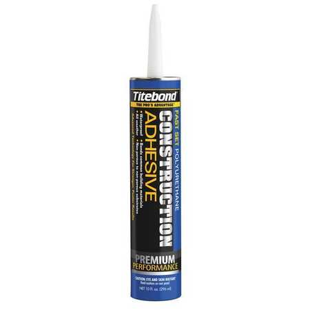 Construction Adhesive, 10 oz, Brown/Grn