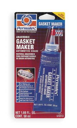Anaerobic Gasket Maker, 50mL Tube, Red