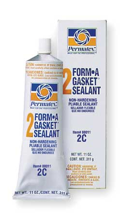 Gasket Sealant, 11 oz Tube, Black