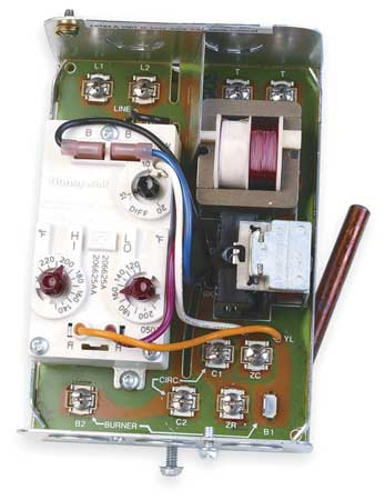 Triple Aquastat, Burner Control, 130F-240F
