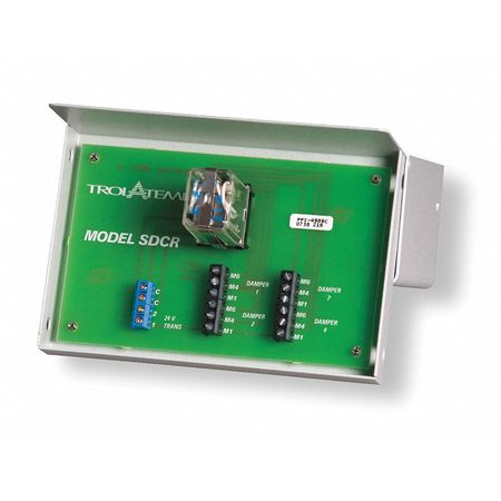 Slave Damper Control Relay, Replacement