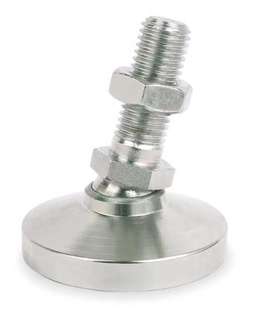 Level Mount, Swivel Stud, 5/8-11, 2-1/2 in.
