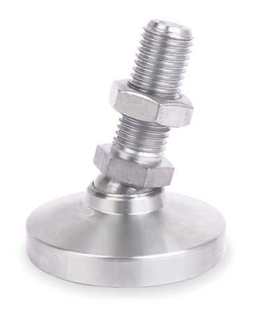 Level Mount, Swivel Stud, 3/8-16, 1-1/4 in.