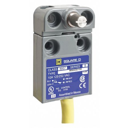 Miniature Limit Switch, 250VAC/28VDC