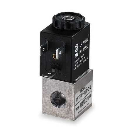Solenoid Air Control Valve, 1/8 In, 12VDC