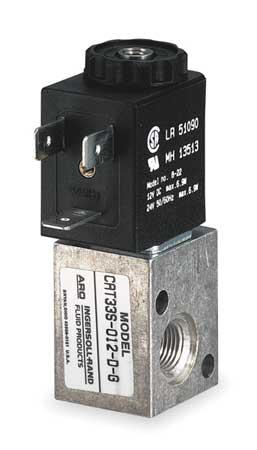 Solenoid Air Control Valve, 1/8 In, 12VDC