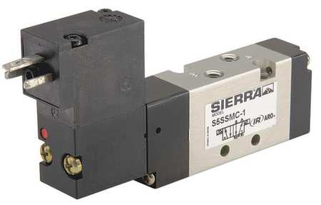 Solenoid Air Control Valve, 5/16In, 120VAC