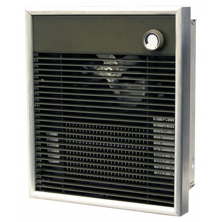 Electric Wall Heater, BtuH 6824, 208V