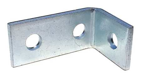 Channel Angle Bracket, Silver