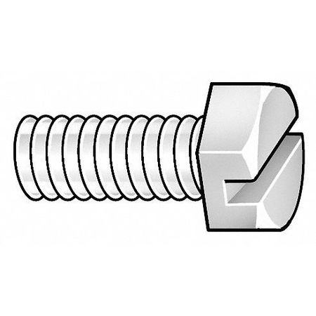 "1/2""-13 x 1-1/2"" Nylon UNC (Coarse) Hex Head Cap Screws,  50 pk."
