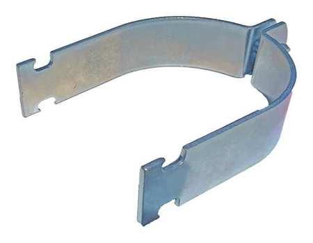Channel Rigid Pipe Strap, 3-1/2 In, PK10