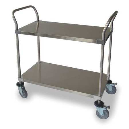 Shelf Cart, 2 Shelves, 36x24x39
