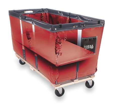 "Flatwork Ironer Truck, 50"", Red Vinyl"