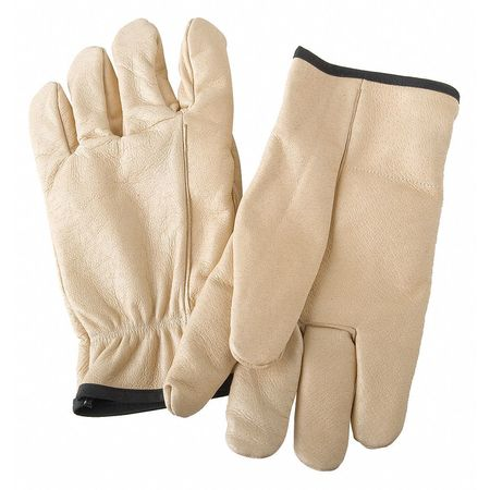 Anti-Vibration Gloves, XL, Gold, PR