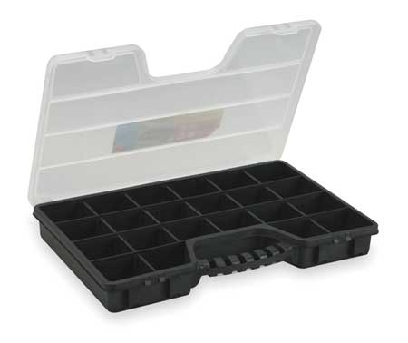 "Adjustable Compartment Box,  20"" W x 12-13/16"" L x 2-1/2"" H"