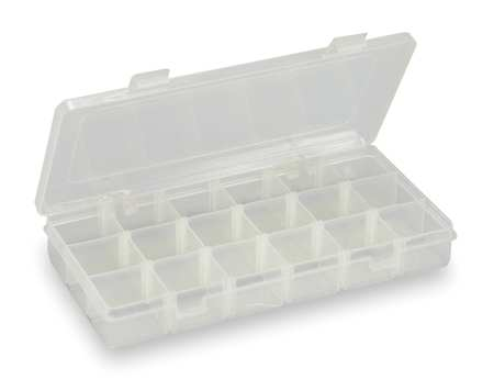 "Adjustable Compartment Box,  9"" W x 5"" L x 1-3/8"" H"