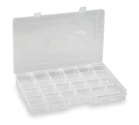 "Adjustable Compartment Box,  15"" W x 9-7/32"" L x 1-7/8"" H"