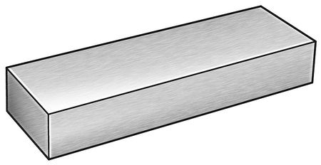 Flat Stock, Steel, 4140, 1 1/2 x 2 In, 3 Ft