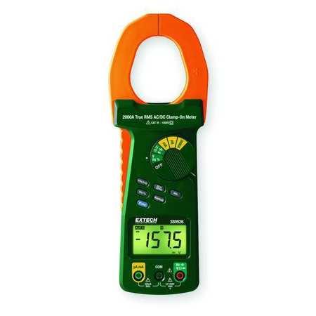 Digital Clamp Meter, 2000A