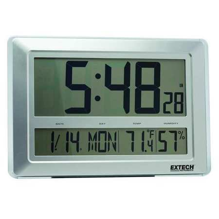 Clock Digital Hygrometer, 23 to 122 F