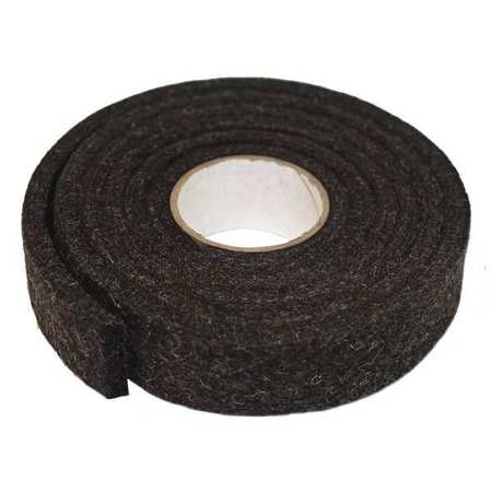 Felt Strip, F26N, 1/2 In T, 2 x 120 In