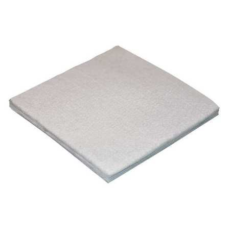 Felt Sheet, Poly, 1/2 In T, 72 x 12 In