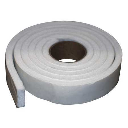 Felt Strip, Poly, 1/2 In T, 2 x 120 In