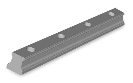 Profile Ball Rail, 460mm L, 20 W, 19 mm H
