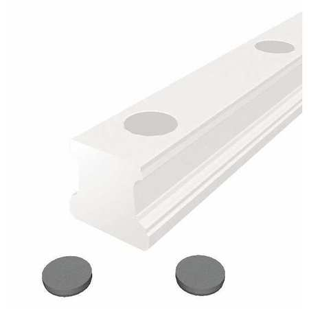 Plastic Rail Plugs, OD 15 mm, PK25