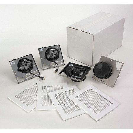 Bathroom Fan Kit, 50 CFM, 0.4A, PK4