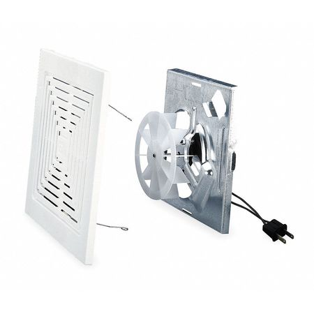 Bathroom Fan Finish Kit, 50 CFM, 0.8A, PK6