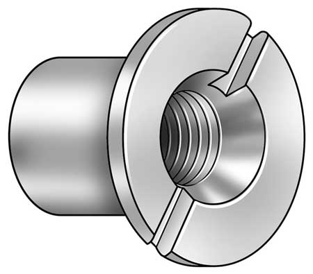 Barrel Bolt, 5/16-18, 18-8 SS, PK5