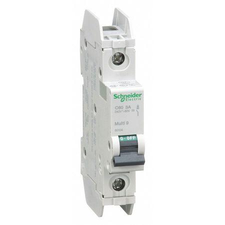 1P Miniature Circuit Breaker 3A 120/240VAC