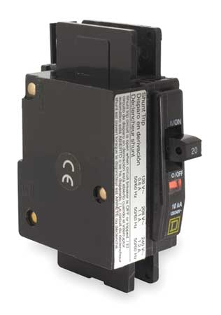 1P Shunt Trip Circuit Breaker 30A 120/240VAC