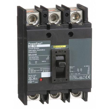 3P Standard Circuit Breaker 100A 240VAC