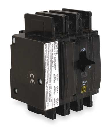 3P Shunt Trip Circuit Breaker 70A 240VAC