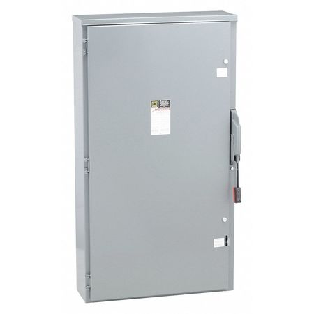 400 Amp 240VAC Single Throw Safety Switch 3P